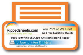 ESD Antistatic Bond Paper