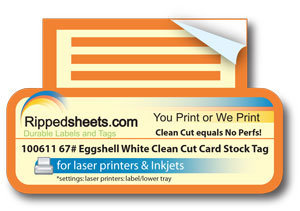 image relating to Printable Cardstock Tags referred to as 100611 - 67lb Matte White or Matte Eggs Contemporary Lower Vellum
