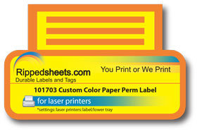 Custom color labels