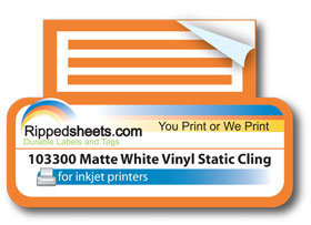 Persnickety image regarding printable static cling vinyl