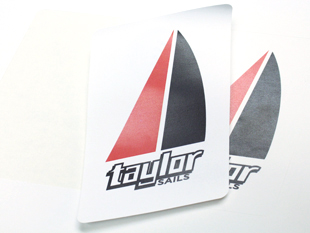 Poly Sail Cloth Label