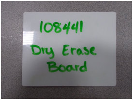 Permanent Dry Erase Board