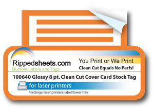 8 pt Clean Cut Card Stock