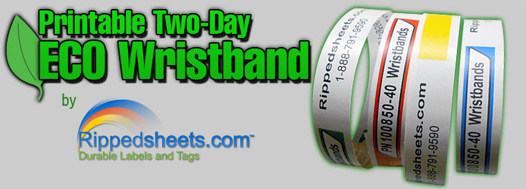 Two-Day ECO Wristbands