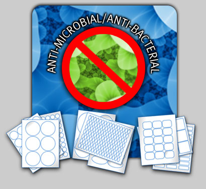 New anti-microbial/anti-bacterial labels