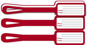 We Offer Custom Printable And Personalized Luggage Tags