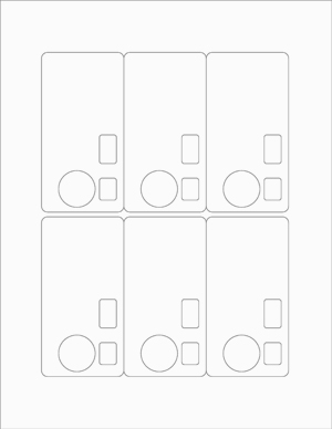 Personalized Disposable Camera Label Template