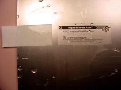 101103 Matte Waterproof Waterslide Vinyl Permanent